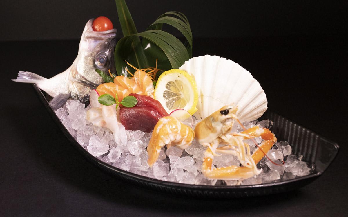 sashimi misto sicilia